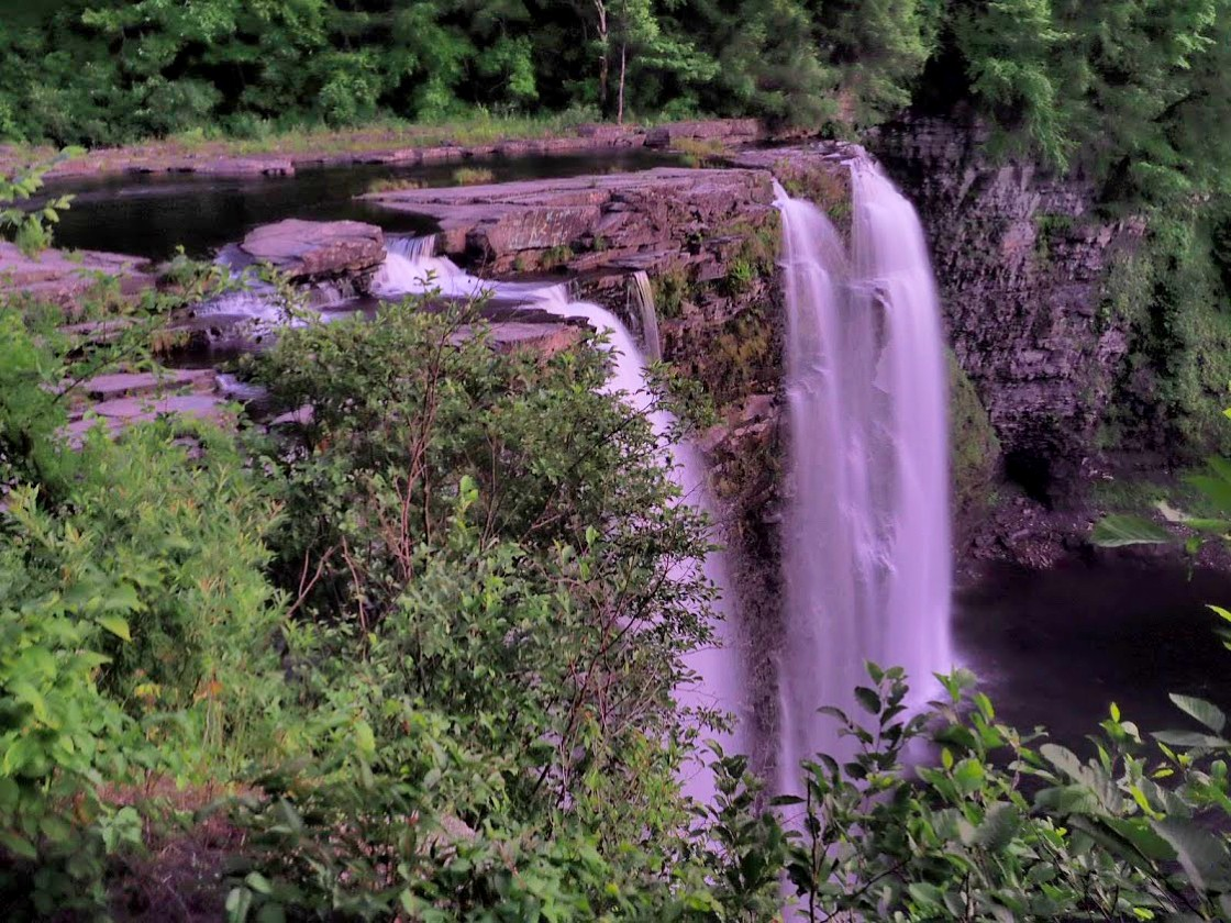 Salmon River Falls Waterfall