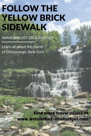 Follow the Yellow Brick Sidewalk - Chittenango New York - Wanderlust on a Budget - www.wanderlust-onabudget.com