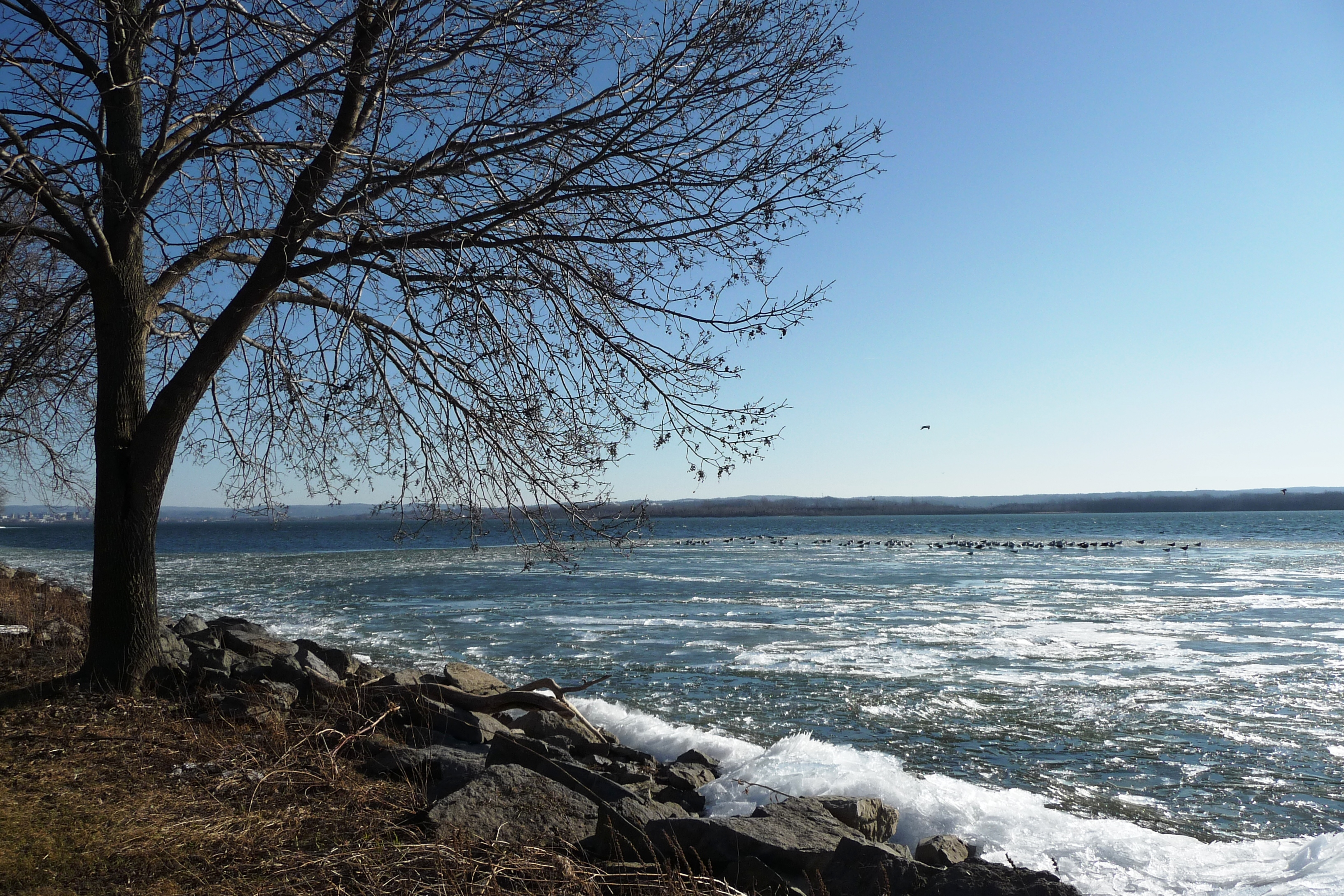 Onondaga Lake in Winter