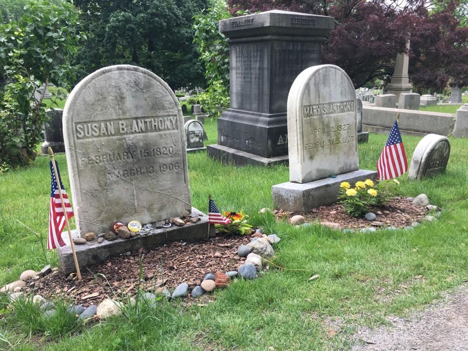 Mt Hope - Susan B Anthony Grave