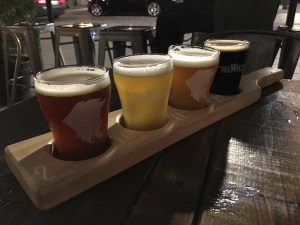 Pub Brewskey flight