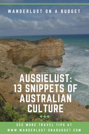 Aussielust: 13 Snippets of Australian Culture - Wanderlust on a Budget - travel tips - www.wanderlust-onabudget.com
