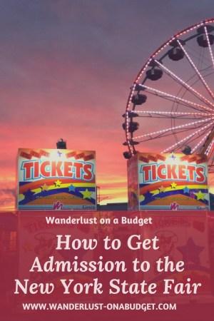 New York State Fair - Wanderlust on a Budget - travel tips - www.wanderlust-onabudget.com
