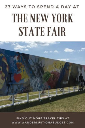 New York State Fair - Wanderlust on a Budget - travel tips - www.wanderlust-onabudget.com