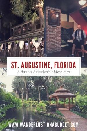 St Augustine Haunts - Florida - ghost tour - Wanderlust on a Budget - www.wanderlust-onabudget.com