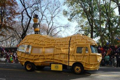NYC Macys Thanksgiving Parade Mr Peanut