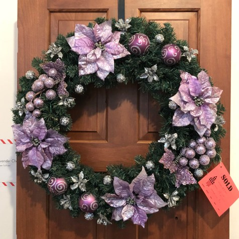Festival of Trees Purple Wreath