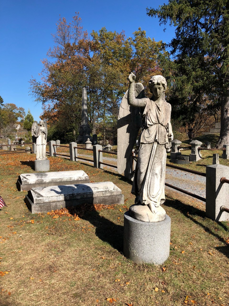 Sleepy Hollow Cemetery Angel