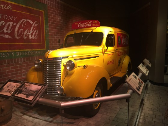 Atlanta Coca-Cola Car