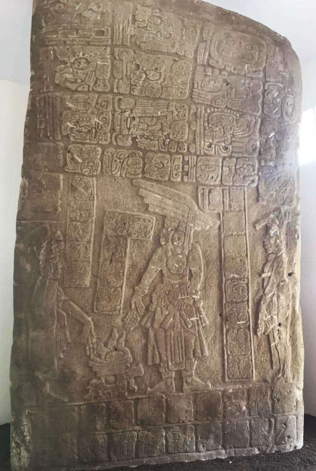 Belize - Nim Li Punit Stele