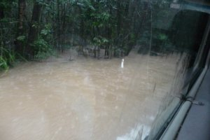 Flooding in Cairns Travel Fail