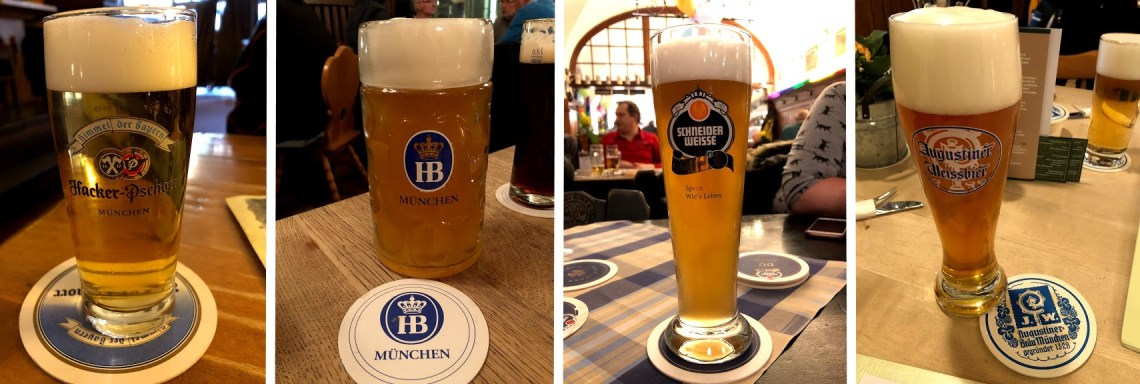 German Beer Collage