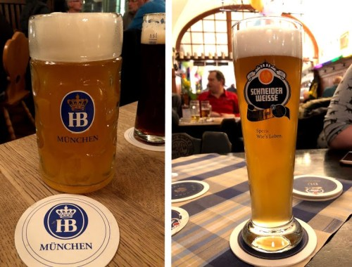 German Beer Collage