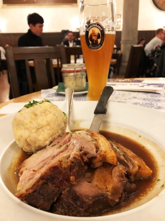 German Dinner Munich