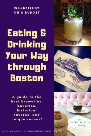 Eating & Drinking through Boston - A guide to restaurants in Boston | Sam Adams Brewery, Lamplighter Brewery, Night Shift Brewing, Bone Up Brewing, McGreevys, Dropkick Murphys | www.wanderlust-onabudget.com/eating-drinking-boston