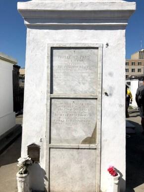New Orleans - St Louis Cemetery Laveau Mausoleum