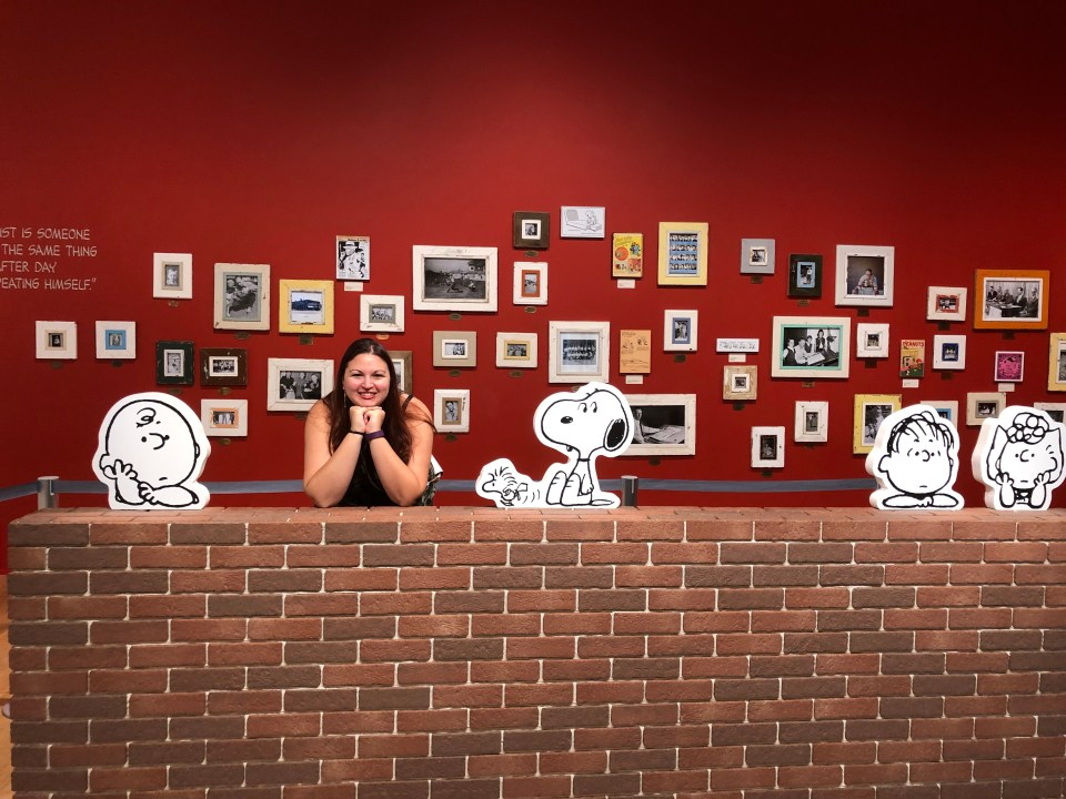 Japan - Tokyo Snoopy Museum and me
