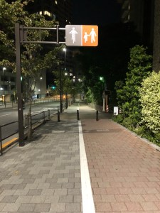 Japan sidewalk