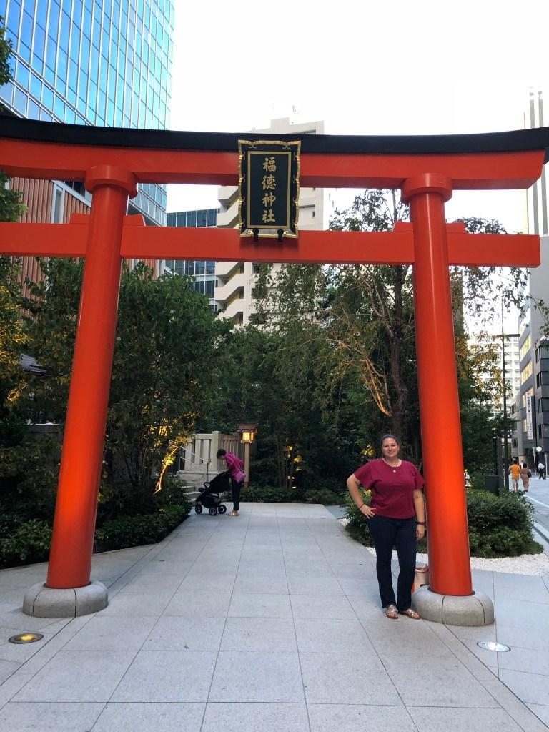 Japan - Shrine in Ginza