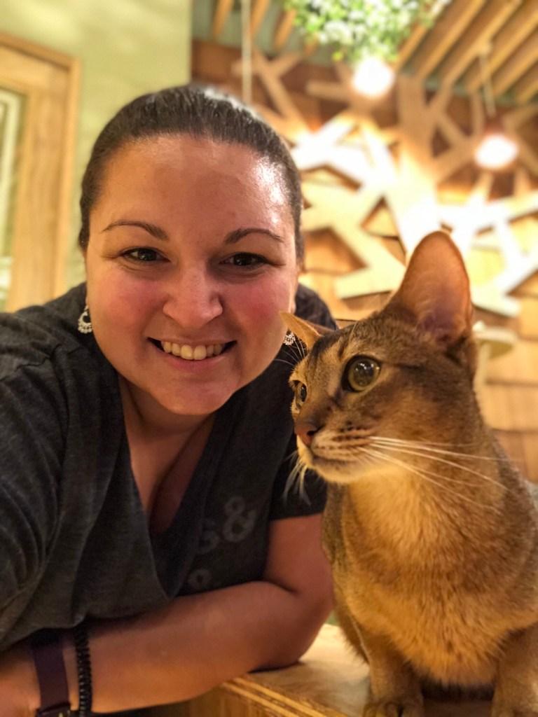 Japan - Akihabara Cat Cafe with me