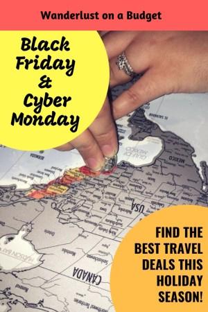 Black Friday Cyber Monday 2018 Travel Deals - Amazon Expedia Hotels.com Ripleys | www.wanderlust-onabudget.com