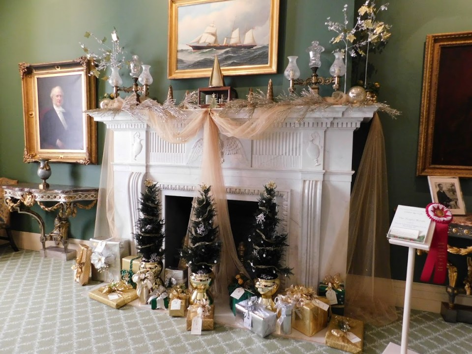 Marble House Fireplace