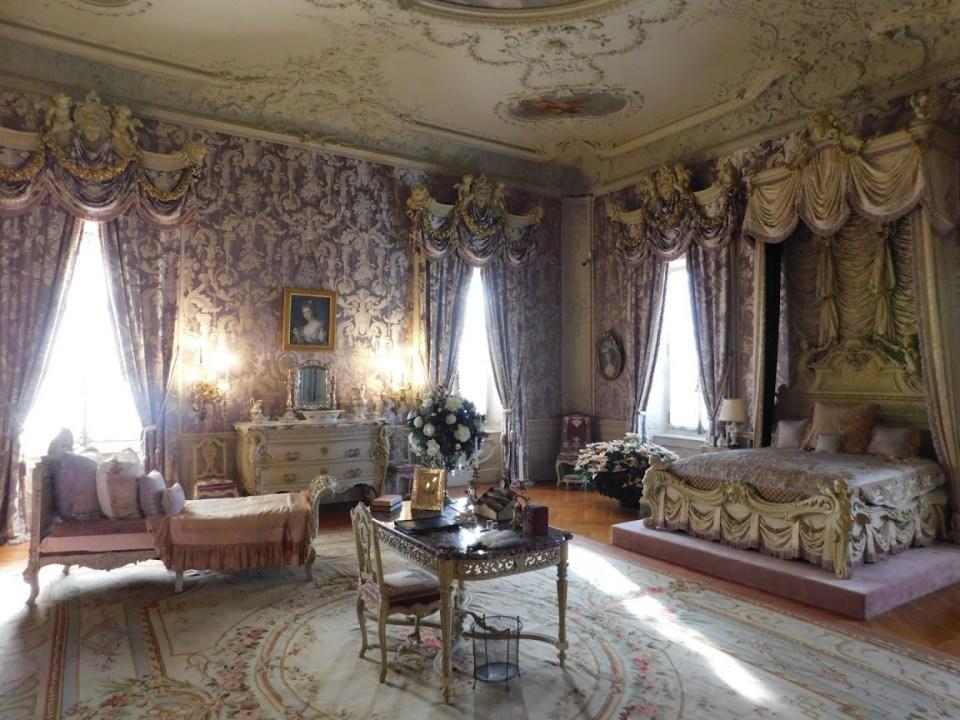 Marble House Purple Bedroom