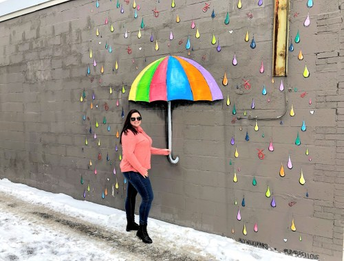 Syracuse Umbrella Instagrammable Spot