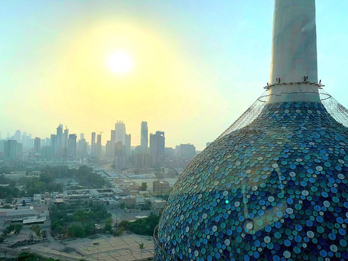 Kuwait Towers View - Kuwait Travel Guide
