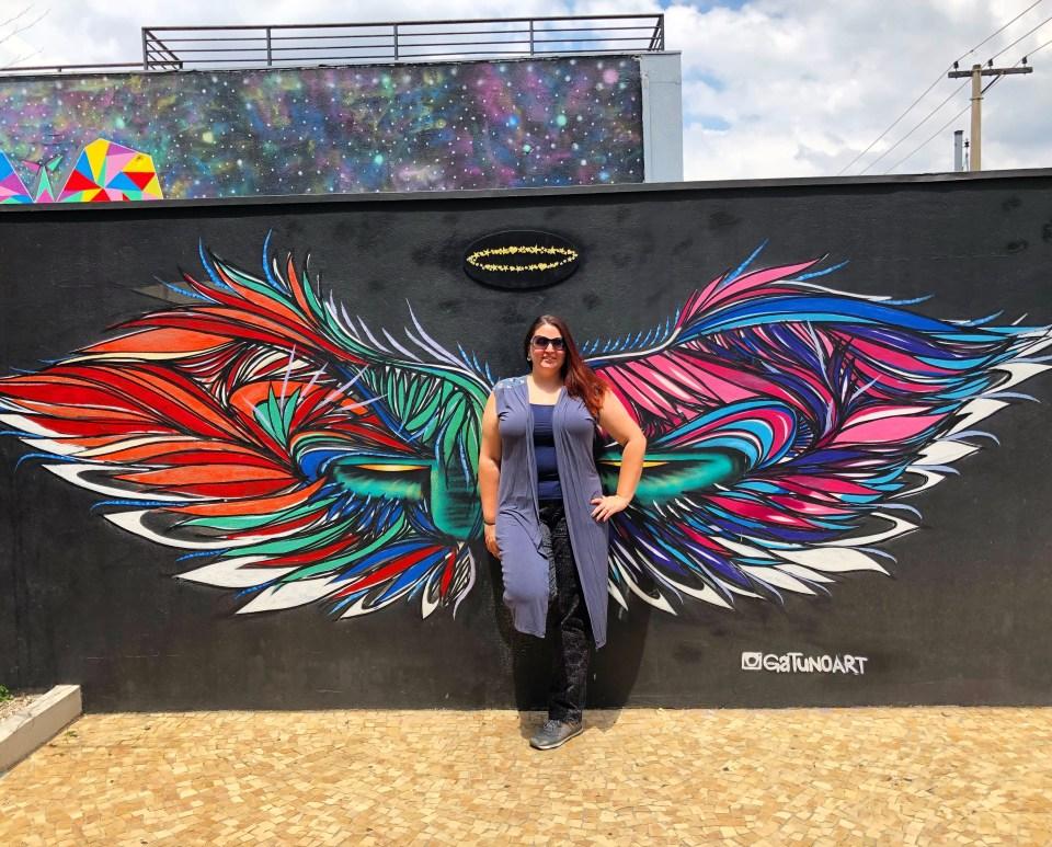Brazil - Butterfly Mural Beco do Batman