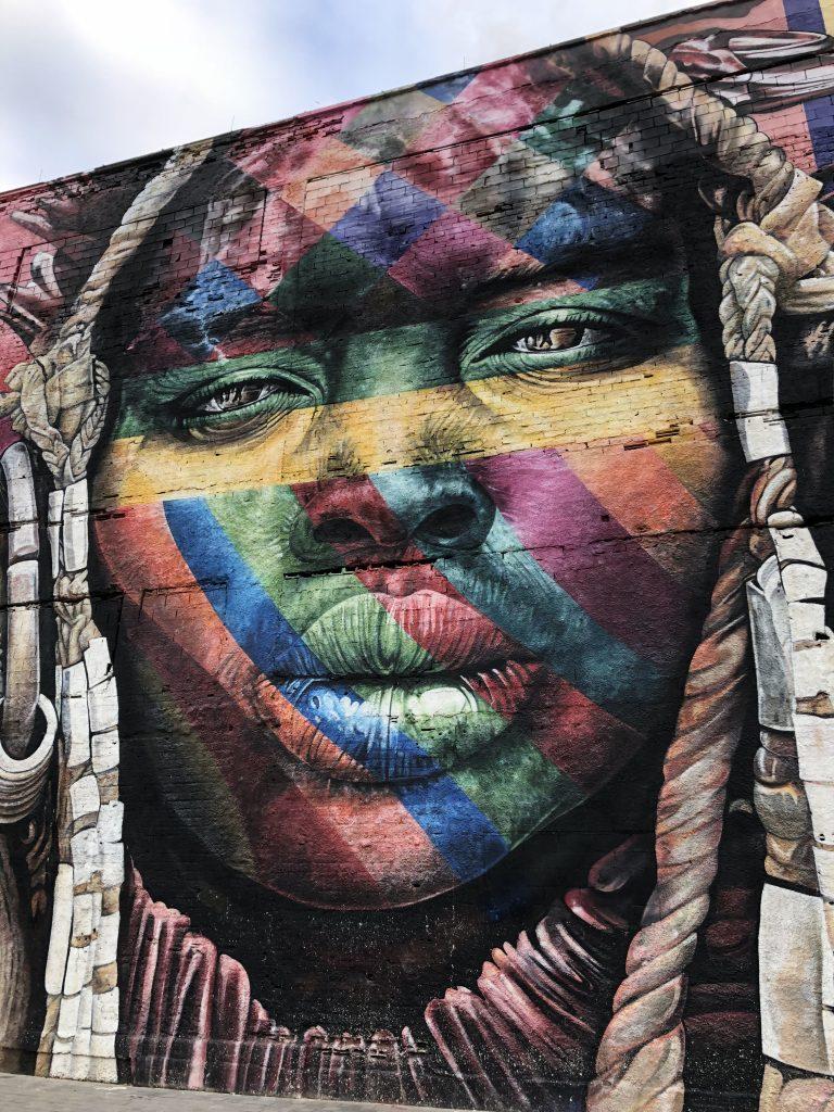 Olympic Boulevard Kobra Mural Brazil 7