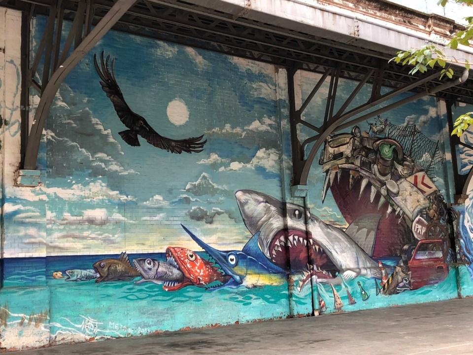 Rio Olympic Boulevard Mural 3