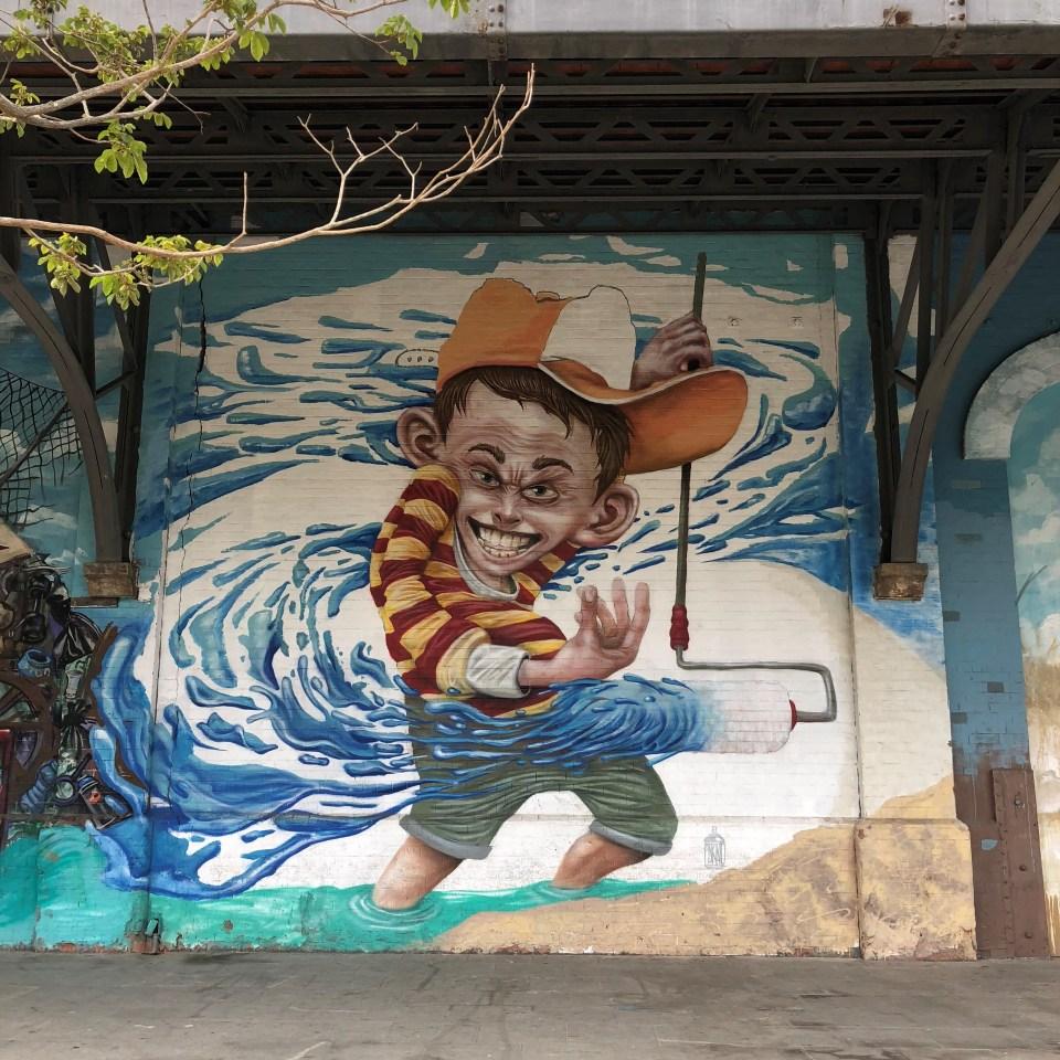 Rio Olympic Boulevard Mural 4