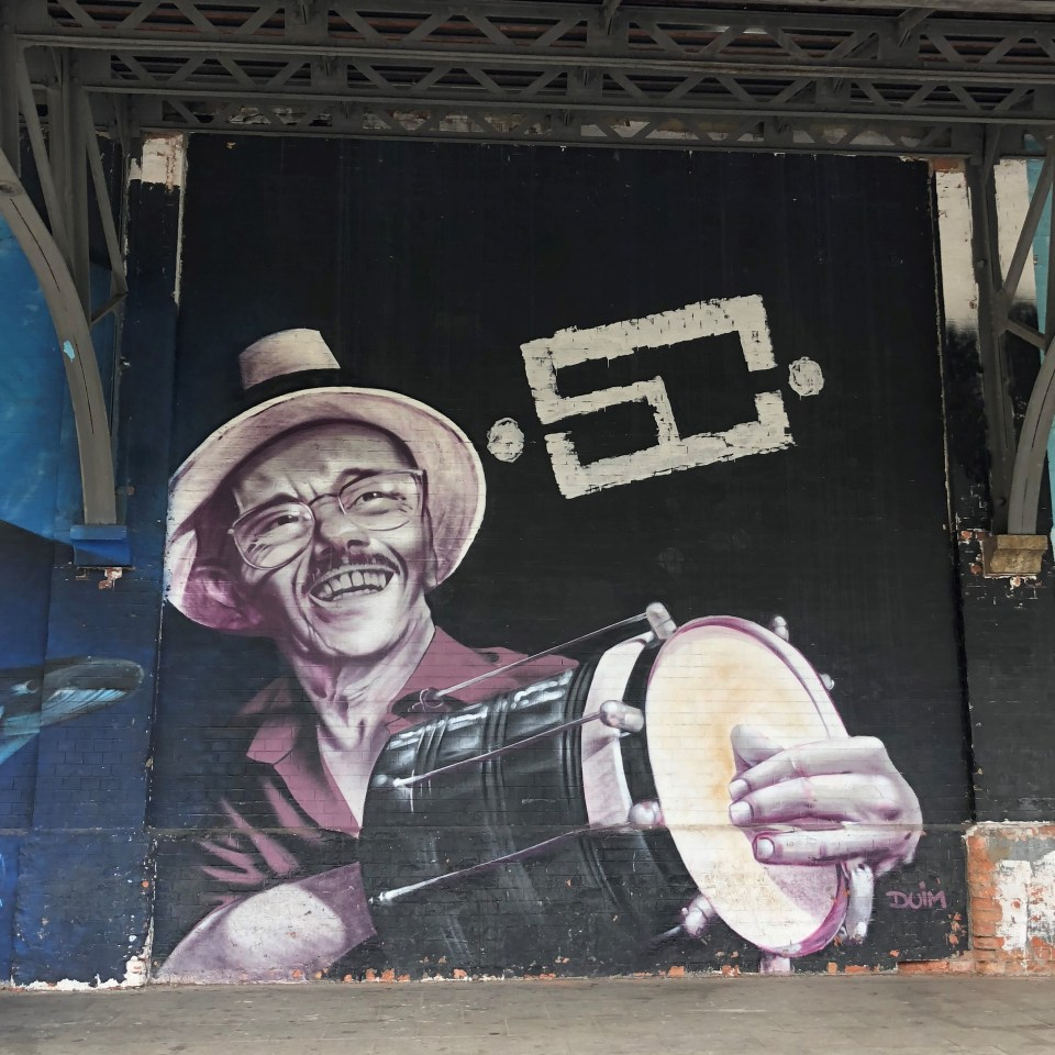 Rio Olympic Boulevard Mural 8