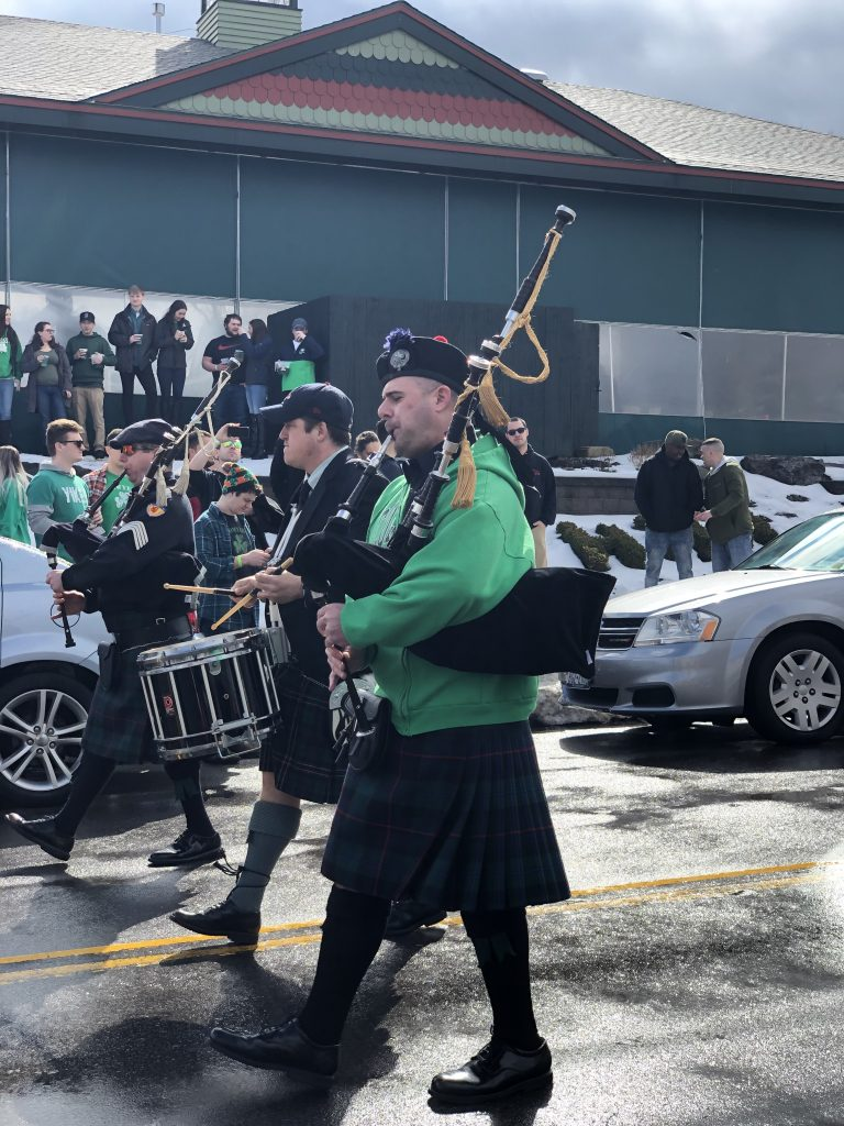 Green Beer Sunday - Bagpipes