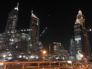 Dubai UAE at Night - UAE travel guide