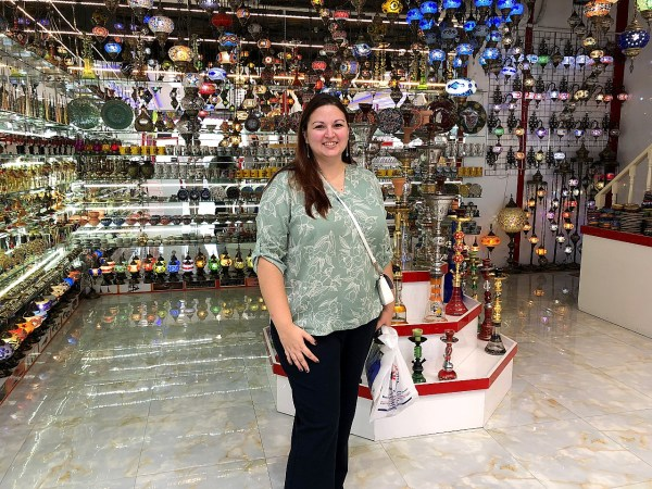 Me at the Gold Souk in Dubai UAE