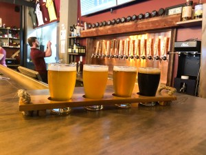Talking Cursive Brewing Company Flight