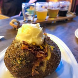 Talking Cursive Baked Potato