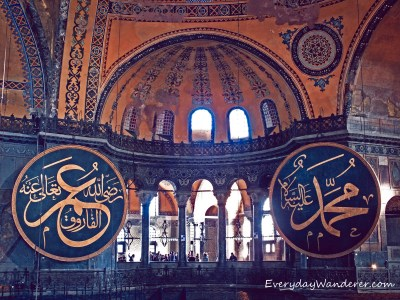Hagia Sophia in Istanbul - Photo by Sage Scott, the Everyday Wanderer