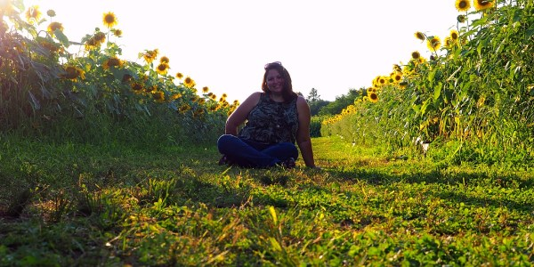 Dani in Sunflowers