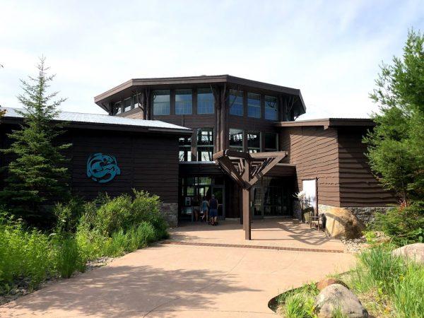The Wild Center Adirondacks Entrance