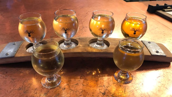 Oak and Apple Cider Flight