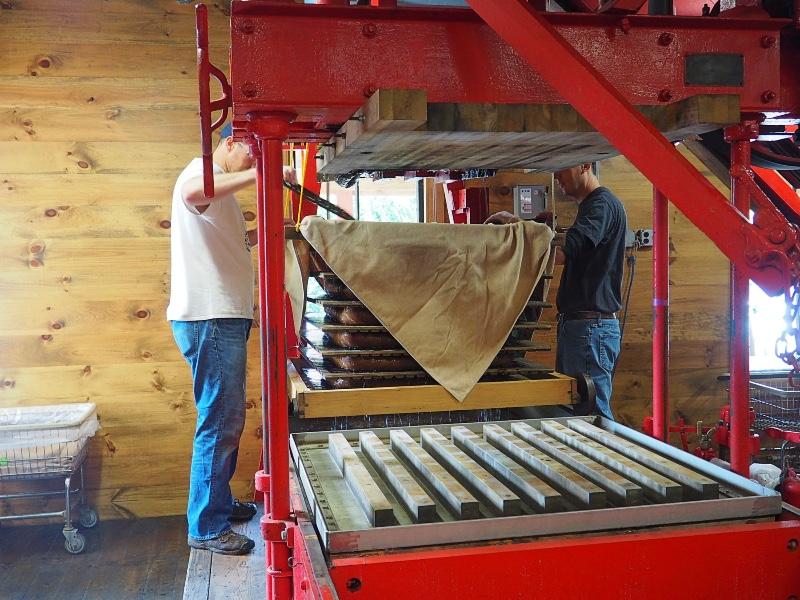 Clinton Cider Mill Machine