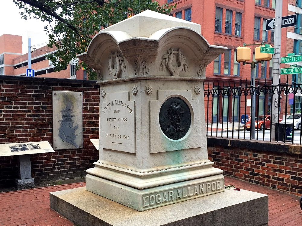 Edgar Allan Poe Monument Baltimore