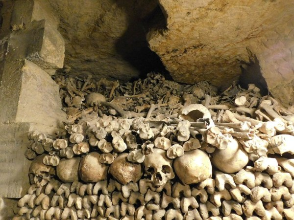Paris Catacombs Bone Pile