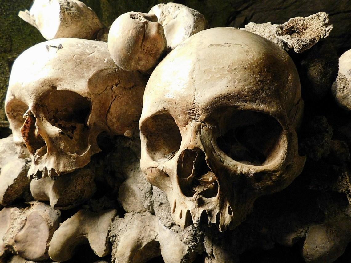 Paris Catacombs Skulls