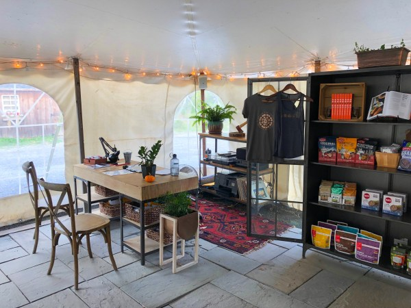 Glamping in Ithaca - Firelight Camps Check In