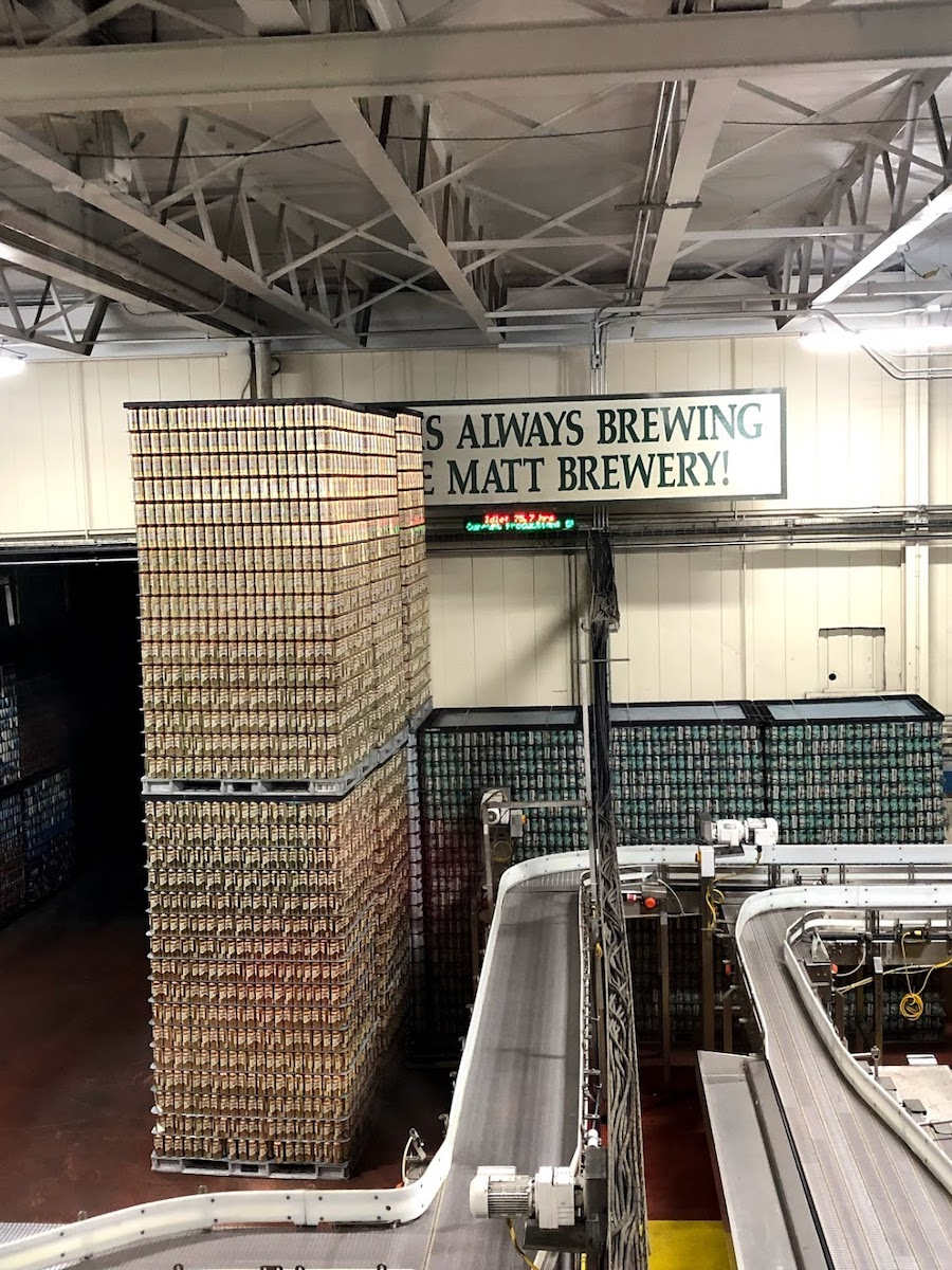 Saranac Brewery Canning