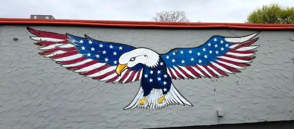 Bald Eagle Mural